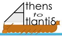 Athens to Atlantis Logo